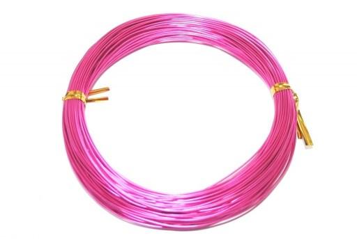 Aluminium Wire Fuchsia 1mm - 20m