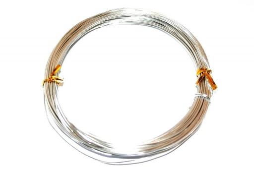 Aluminium Wire Silver 1mm - 20m