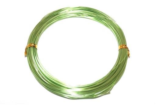 Filo di Alluminio Verde Chiaro 1mm - 20mt