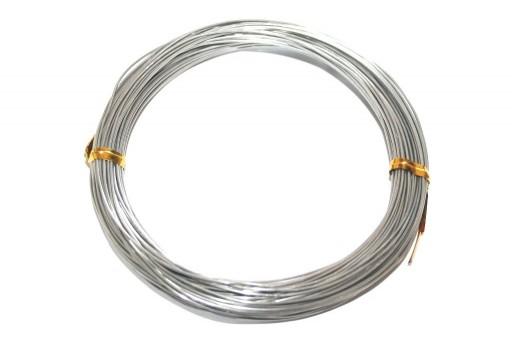 Filo di Alluminio Grigio 1mm - 20mt