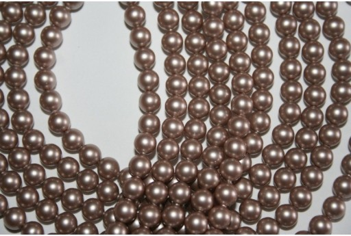 Swarovski Pearls 5810 Powder Almond 6mm - 12pcs