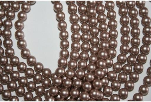 Swarovski Pearls 5810 Powder Almond 6mm - 12pcs