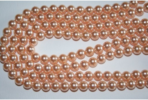 Swarovski Pearls 5810 Crystal Peach 6mm - 12pcs
