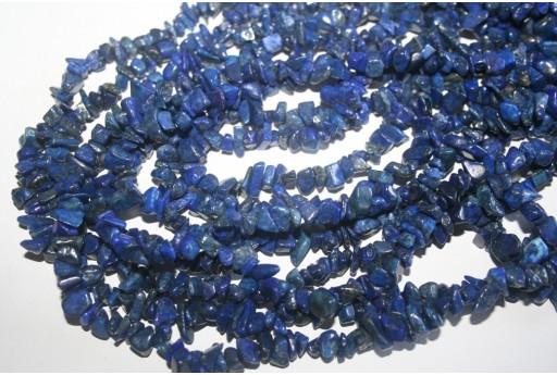 Filo Circa 220 Pietre Lapis Lazuli Chips 5x8mm LA8