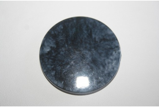 Acrylic Beads Shaded Blue Pastille 40mm AC1L