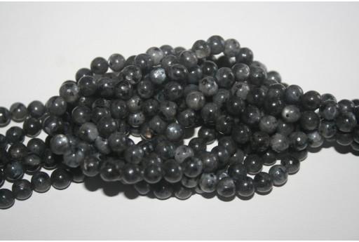 Larvikite Beads Sphere 6mm - 64pz