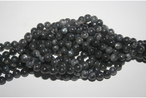 Larvikite Beads Sphere 6mm - 64pz