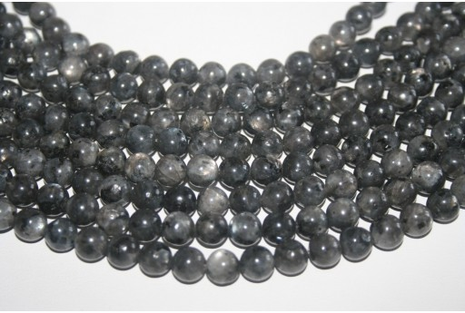 Larvikite Beads Sphere 8mm - 48pz