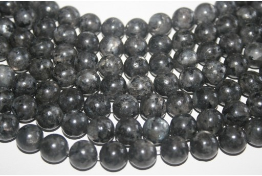 Larvikite Beads Sphere 10mm - 38pz