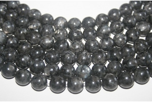 Larvikite Beads Sphere 12mm - 32pz