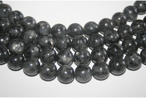Larvikite Beads Sphere 14mm - 28pz