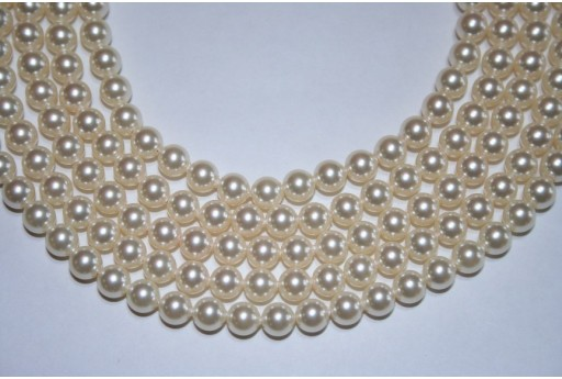Swarovski Pearls 5810 Cream 6mm - 12pcs