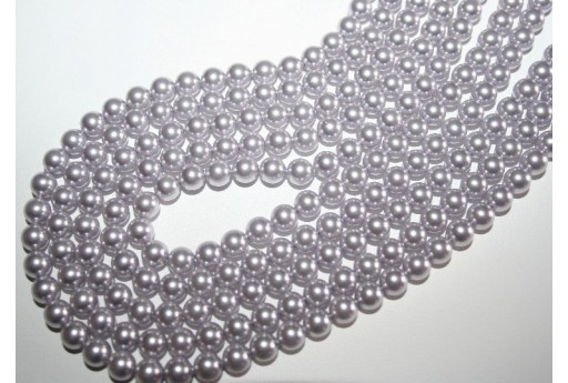 Swarovski Pearls 5810 Crystal Lavender 6mm - 12pcs