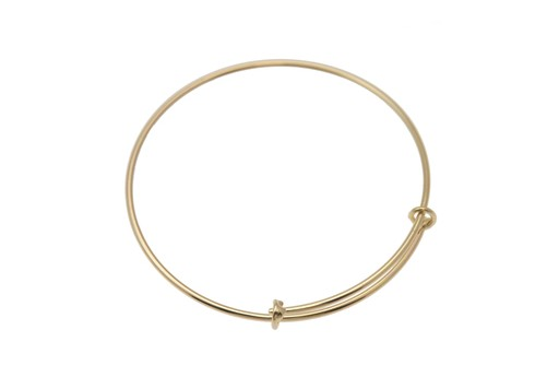 Gold Plated Closed Bracelet 62X1,5mm
