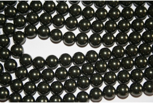 Swarovski Pearls Dark Green 5810 8mm - 8pcs