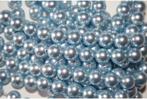 Perle Swarovski Light Blue 5810 8mm - 8pz