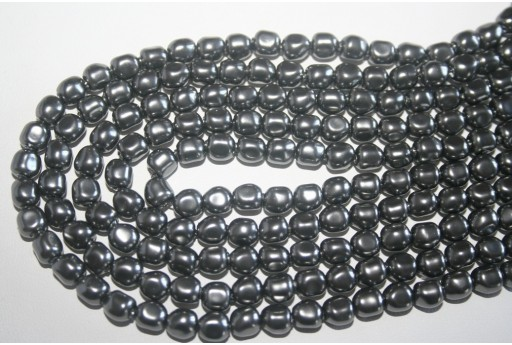 Swarovski Pearls 5840 Dark Grey 6mm - 3pcs