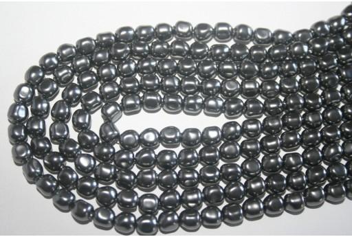Perla Swarovski Crystal Dark Grey 6mm 5840 617