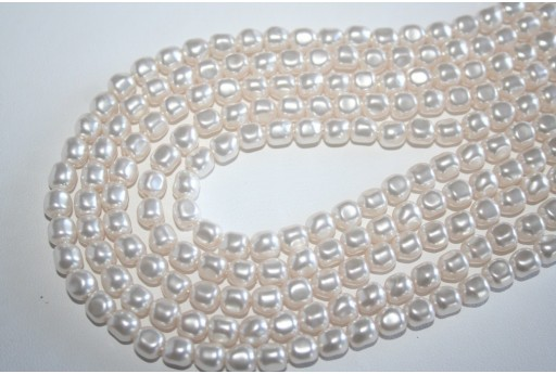 Perle Swarovski 5840 Crystal White 6mm - 3pz