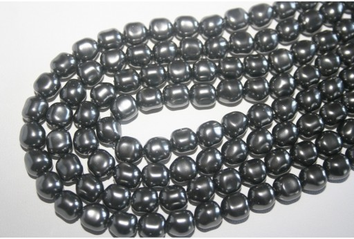 Swarovski Pearls 5840 Dark Grey 8mm - 2pcs