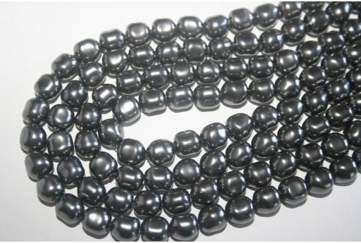 Swarovski Pearls 5840 Dark Grey 8mm - 2pcs