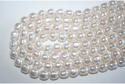 Perle Swarovski 5840 Crystal White 8mm - 2pz