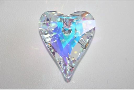 Pendente Swarovski Wild Heart Crystal AB 27mm