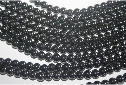 Hematite Beads Sphere 6mm - 64pz