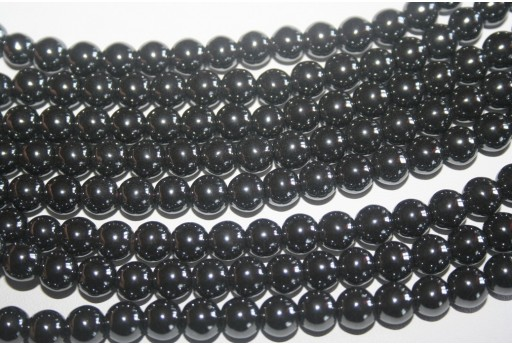 Hematite Beads Sphere 8mm - 54pz