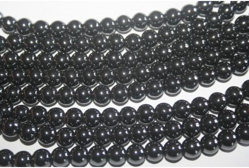 Hematite Beads Sphere 8mm - 54pz
