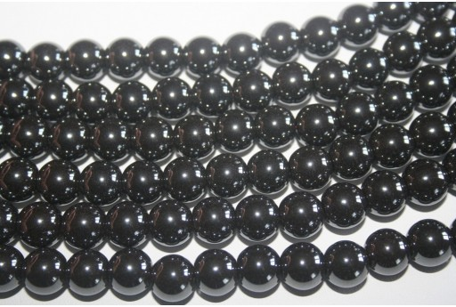 Hematite Beads Sphere 10mm - 42pz