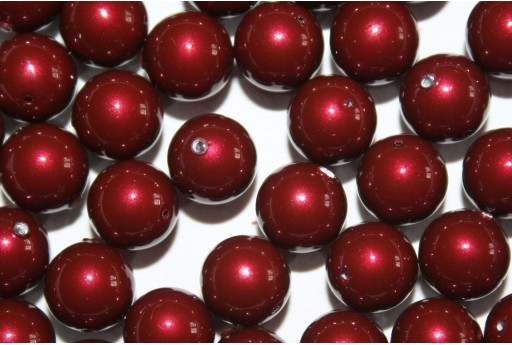 Swarovski Pearls Bordeaux 5810 8mm - 8pcs