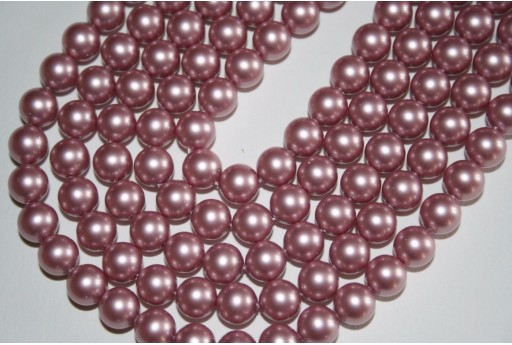 Swarovski Pearls Powder Rose 5810 8mm - 8pcs