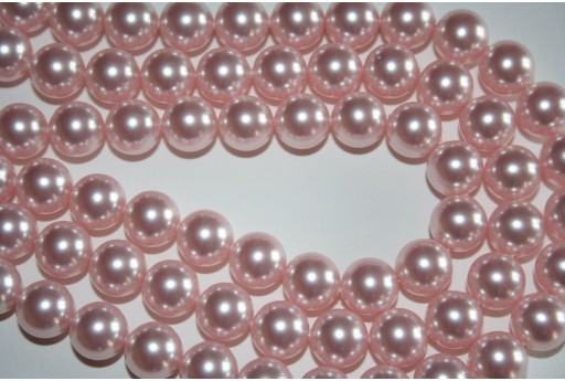 Swarovski Pearls Rosaline 5810 8mm - 8pcs