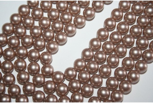 Swarovski Pearls Powder Almond 5810 8mm - 8pcs