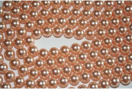 Swarovski Pearls Peach 5810 8mm - 8pcs