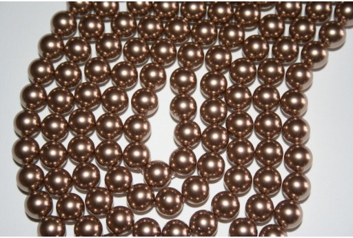 Swarovski Pearls Bronze 5810 8mm - 8pcs