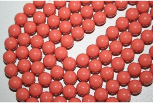 Swarovski Pearls Coral 5810 8mm - 8pcs