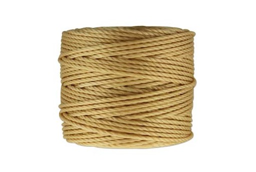 Super-Lon Bead Cord Tex 400 Wheat 0,90mm - 32mt