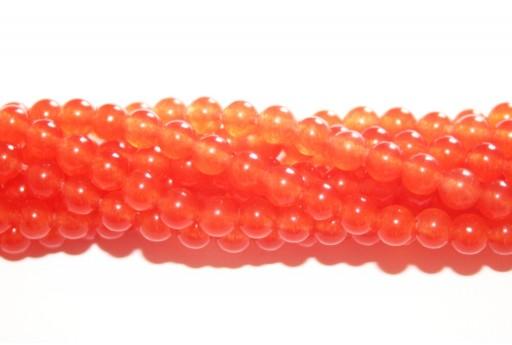 Giada Colorata Topazio - Tondo 4mm