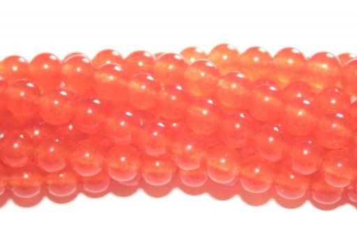 Giada Colorata Topazio - Tondo 6mm
