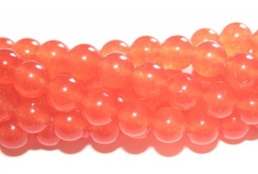 Giada Colorata Topazio - Tondo 8mm