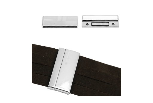 Flat Magnetic Clasp 43x17mm