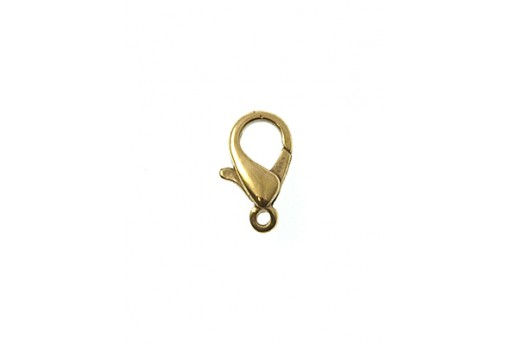 Brass Lobster Claw Clasps 15x8mm - 3pcs
