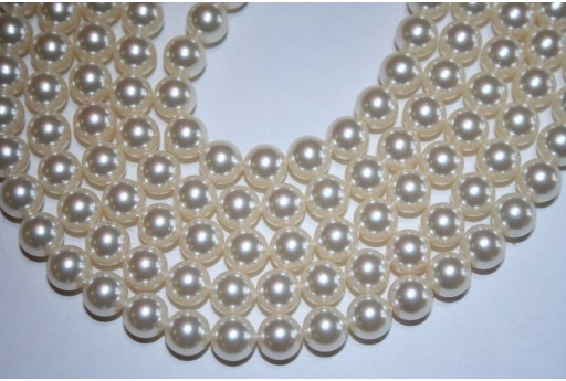 Swarovski Pearls Cream 5810 8mm - 8pcs