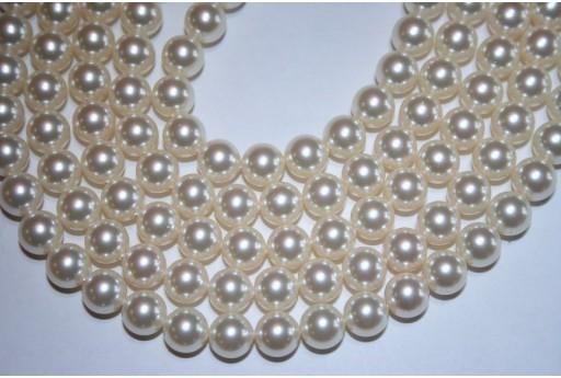 Swarovski Pearls Cream 5810 8mm - 8pcs