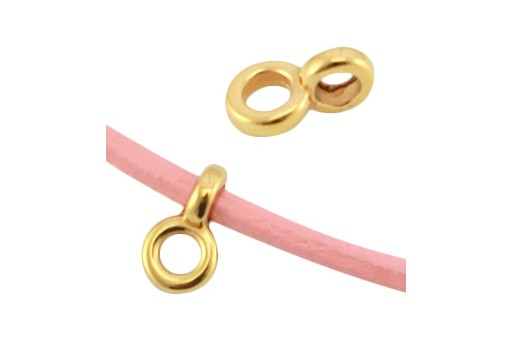 Special Component Gold 24K Hole 2mm 4,5x7mm - 6pcs