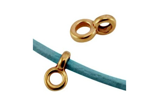 Special Component Bronze Hole 2mm 4,5x7mm - 6pcs