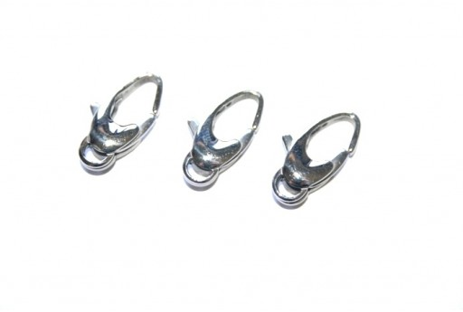 Steel Lobster Clasp 20x10mm