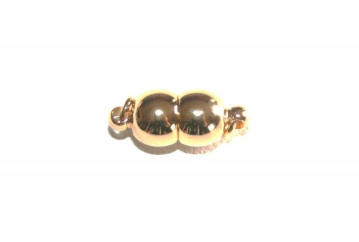 Gold Plated Magnetic Clasp 15x7mm